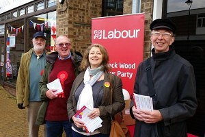 Paddock Wood Branch canvassing