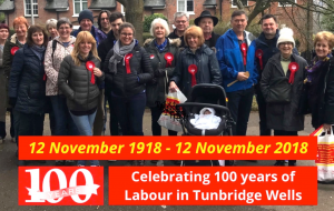 Celebrating 100 years of Labour in Tunbridge Wells